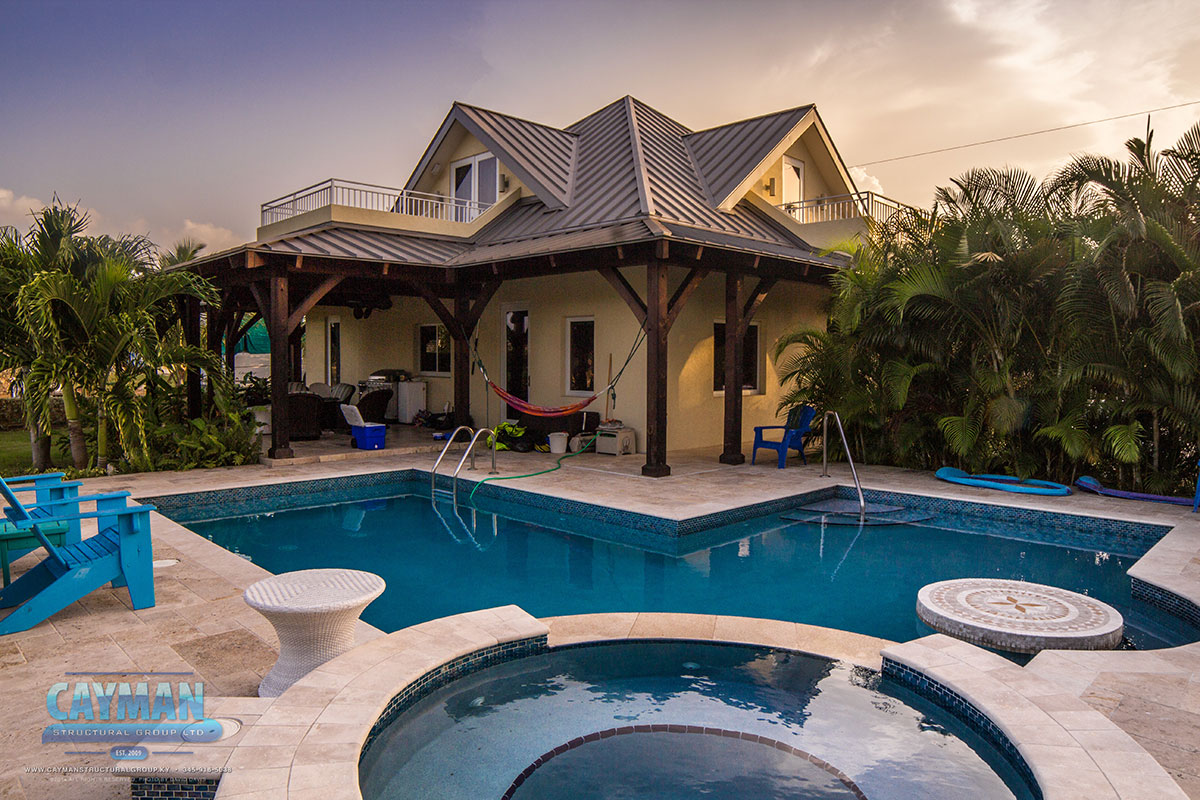 Cayman structural group luxury home builders cayman for Luxury homes builder