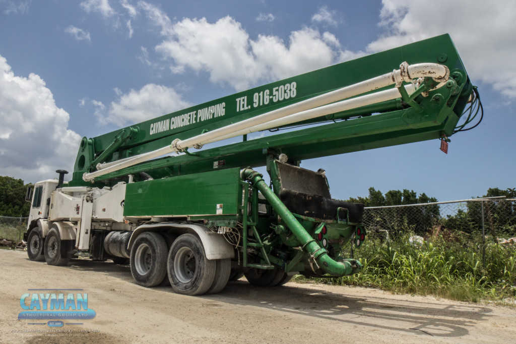 Cayman Concrete Pumping can help you meet the needs of your construction projects.