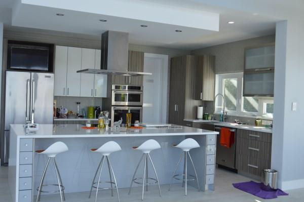 Modern kitchen design and construction