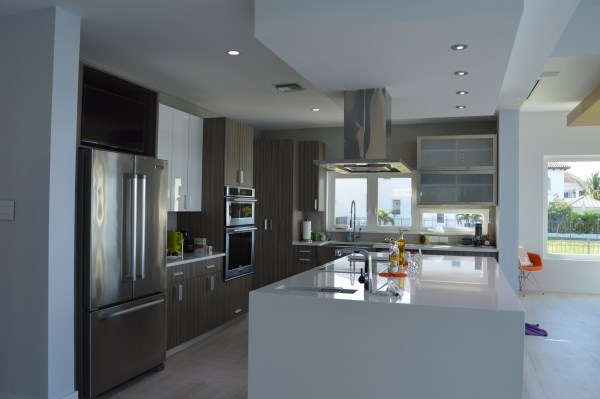 Luxury Modern Kitchen Design Cayman Structural Group  Construction