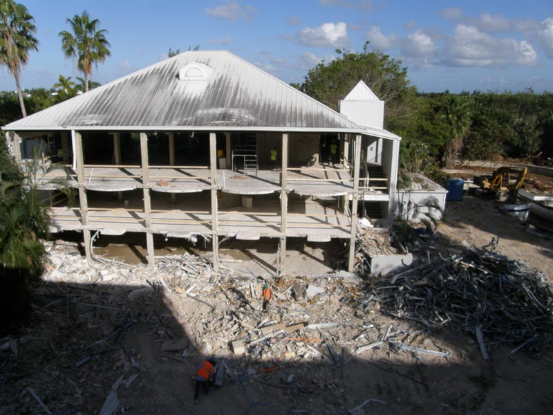 building demolition contracting services cayman islands
