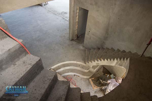 Modern Concrete Homes Staircase