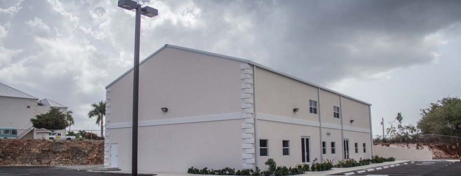 Cayman Islands Baptist Church. Commercial building construction & contracting services provided by Cayman Structural Group.