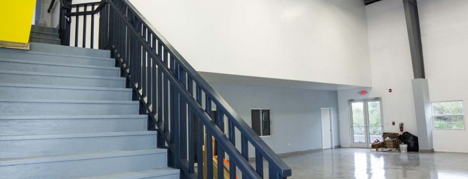 Commercial interior design and construction contracting on the Cayman Islands