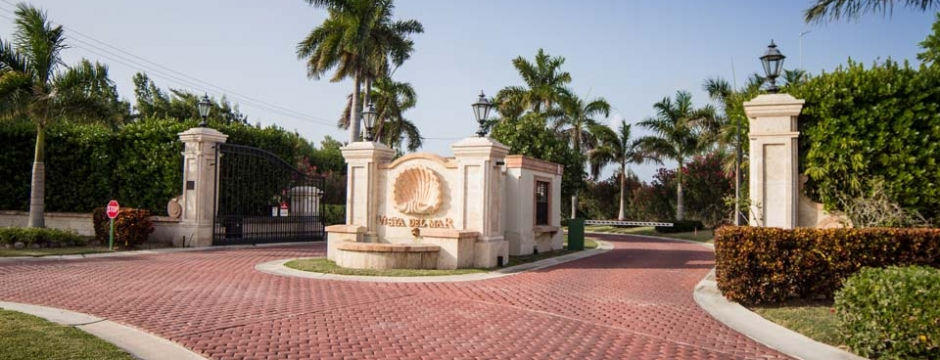 Gated community design and development contracting services on the Cayman Islands.