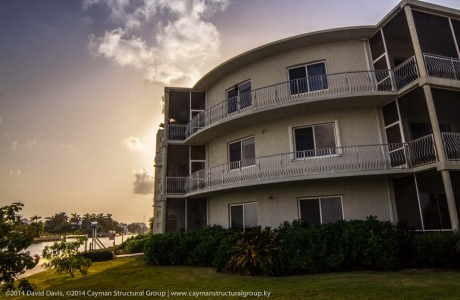 High-end condo development and construction contracting services on the Cayman Islands.