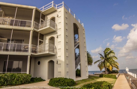 Luxury condo development and construction contracting services on the Cayman Islands.