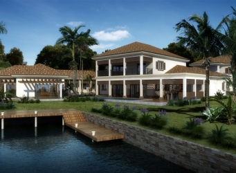 321 at Vista del Mar, waterfront home in Grand Cayman Islands for sale.