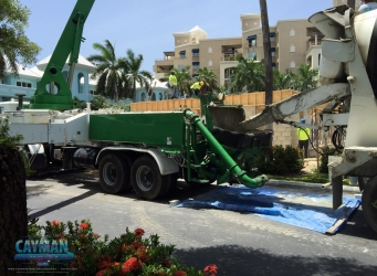 Construction at Coral Stone Club Resort on Grand Cayman by Cayman Structural Group