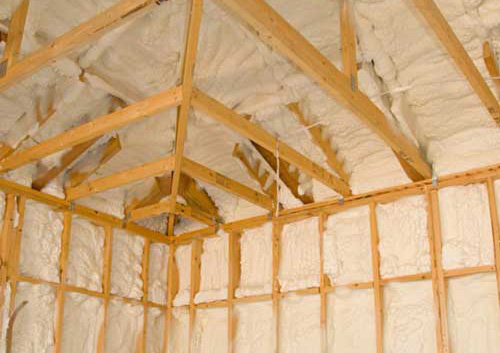 Best insulation on Grand Cayman, Spray Foam by Cayman Structural Group.