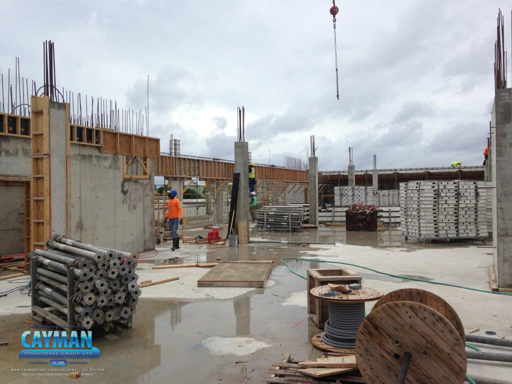 Cayman Structural Group Cayman First Roof Progress Report