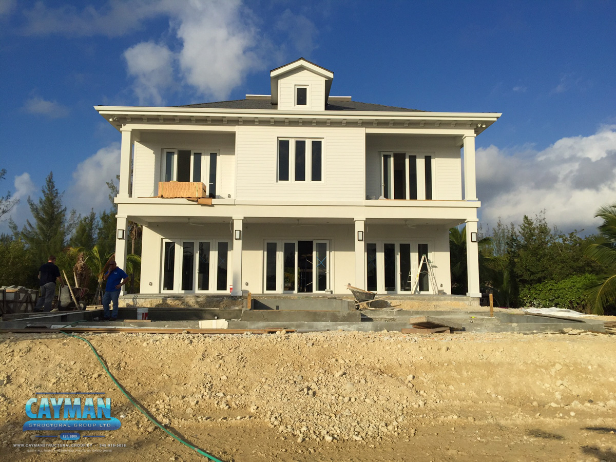 Cayman Structural Group Red Bay Luxury Home Update Progress