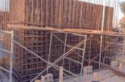 Work continues on the massive 20,000 square foot luxury custom home in Vista del Mar.