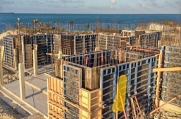 This massive luxury home will be one of the largest in the prestigious Vista del Mar community once it is complete.