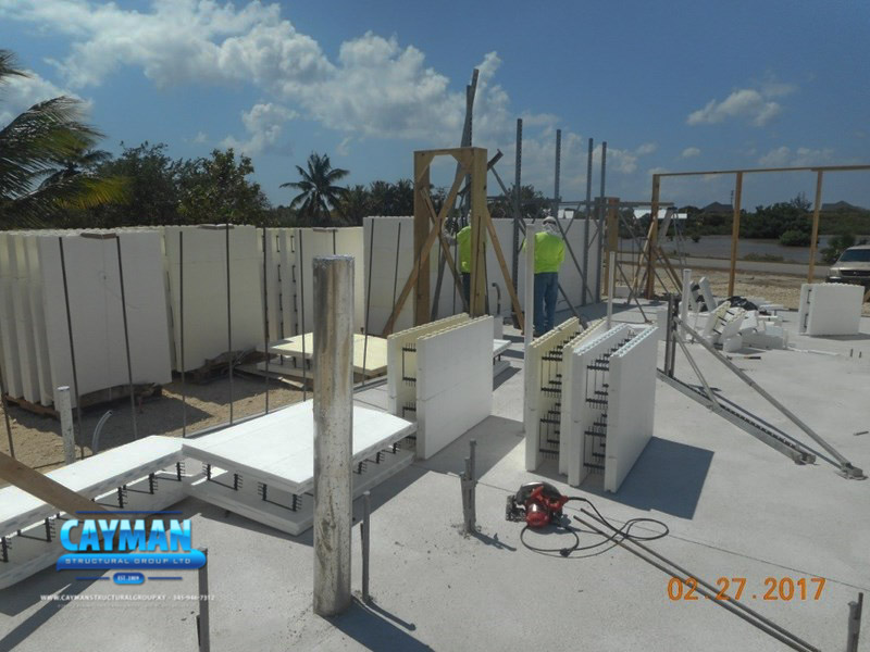 Cayman Structural Group 538 The Shores Construction Update
