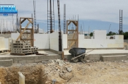 The ICF forms go into place, to build another beautiful Cayman Island custom home.